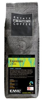 Estate Coffee - Espresso Tres Flores - 200g pose