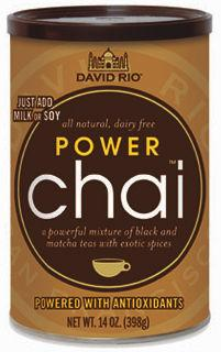David Rio - Power Chai - chai pulver til chai latte