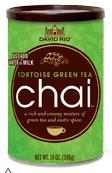 David Rio Chai - Tortoise Green Tea - chaipulver til chai latte